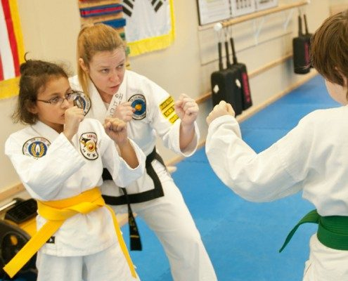 intermediate martial arts girls
