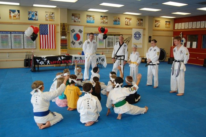 kids birthday party martial arts