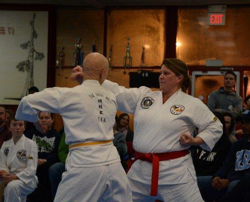 form demonstration black belt