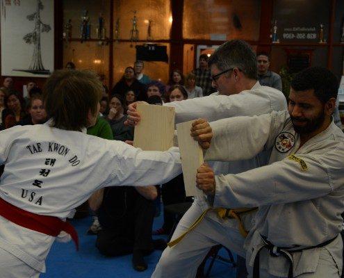 board breaking tae kwon do programs