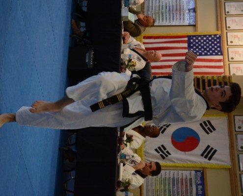 form testing tae kwon do belts