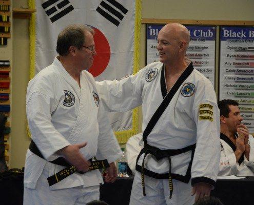 testing rank upgrade martial arts