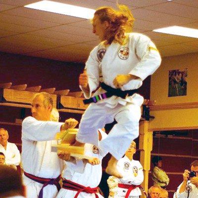 jumping side kick example
