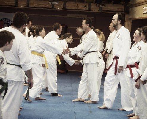 hand shake tae kwon do
