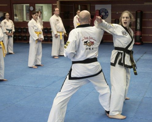 Shout tae kwon do example black belt