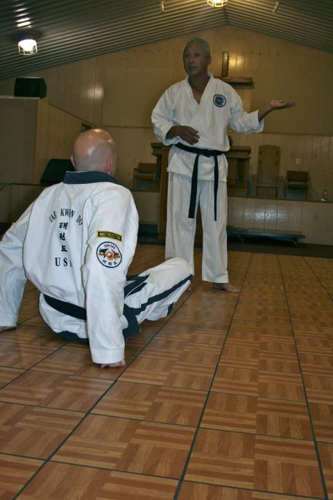 Martial Arts in Asheville - Master Morris attends TKD Intl Camp in New Jersey