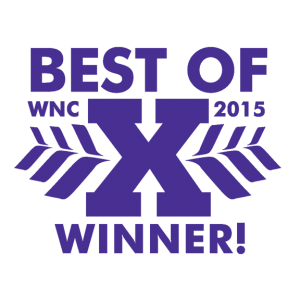 Mountain Xpress Best of WNC Winner 2015