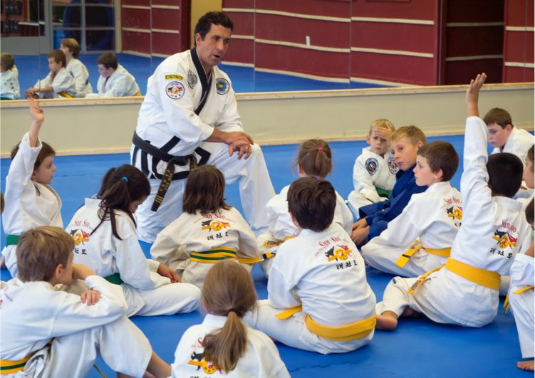 Kids Tae Kwon Do Intermediate Level Asheville Sun Soo Martial Arts