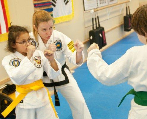 intermediate martial arts girls