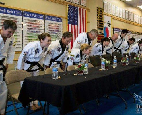 belt testing ranks bowing