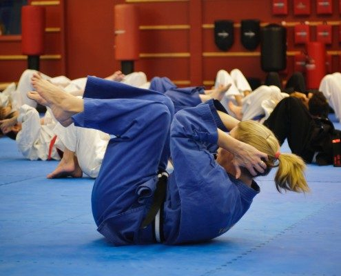 crunches in martial arts Korean