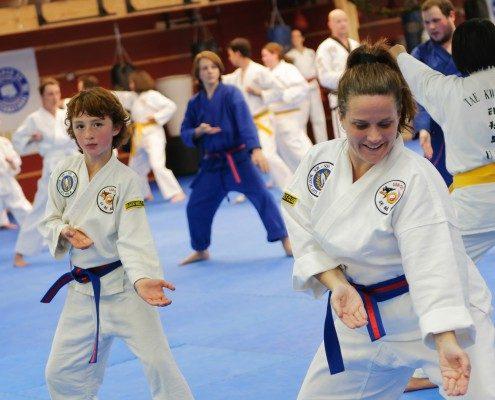 palms up form martial arts program