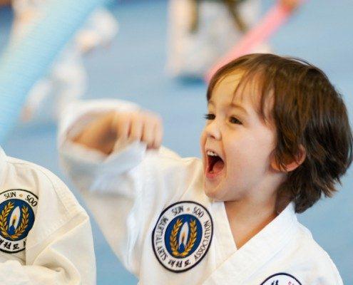 how to block kids martial art