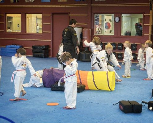 children in tae kwon do anti bullying