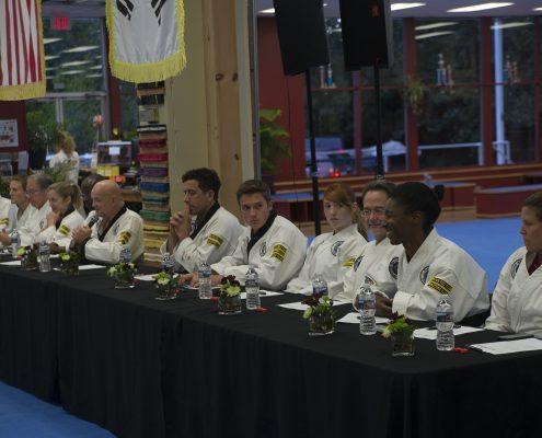 Tae Kwon Do Black Belt Rank Testing Panel