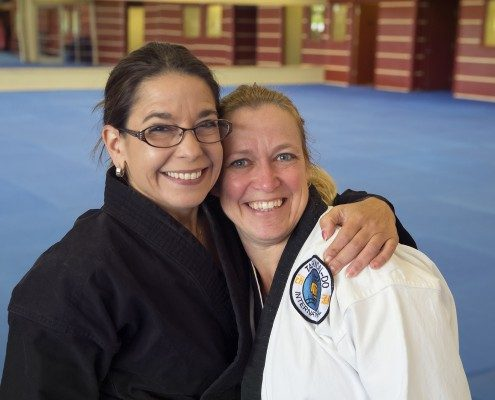 Two Female Tae Kwon Do Instructors Asheville Sun Soo Martial Arts