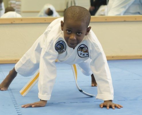 Advanced Tae Kwon Do Student Asheville Sun Soo Martial Arts