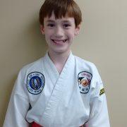 Nicholas Tavernier Tae Kwon Do Student Asheville Sun Soo Martial Arts