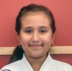 Emily Orozco Tae Kwon Do Student Asheville Sun Soo Martial Arts