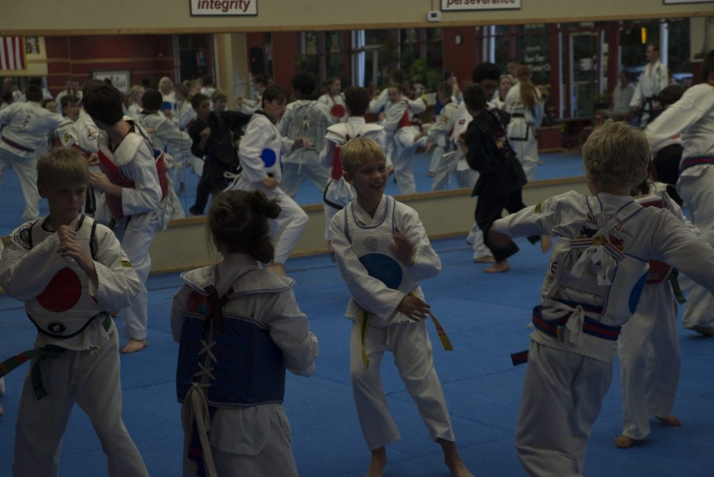 Intermediate level kids participated in the Bootcamp