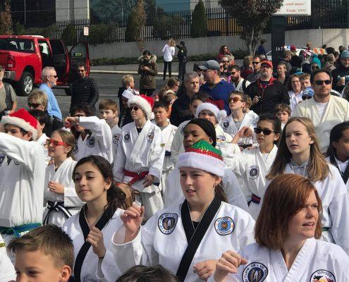 Asheville Sun Soo Participates in Asheville Holiday Parade