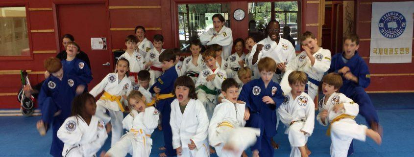 Asheville Sun Soo Martial Arts Summer Camp Summer 2018