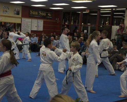 martial arts for elementary aged kids