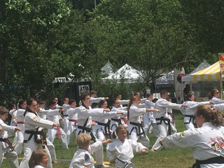 Asheville Sun Soo Martial Arts students