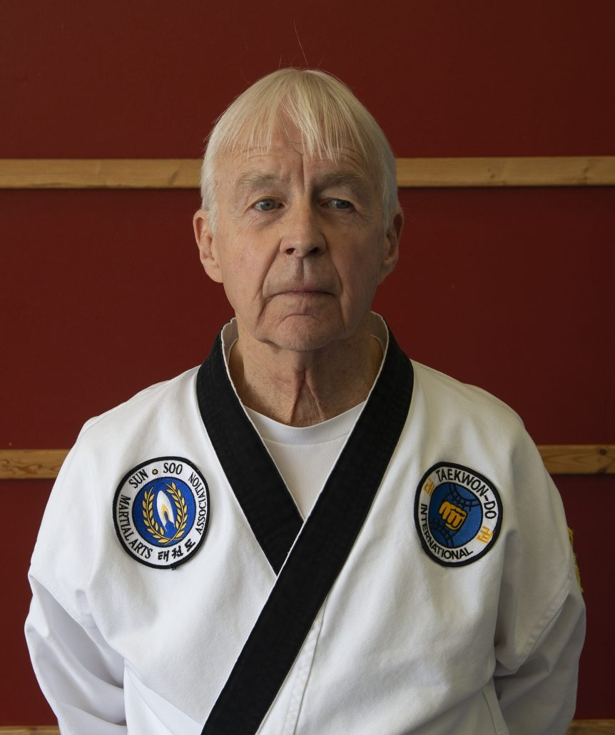 Photo of Master Randy Langley, retired engineer and new 4th Dan