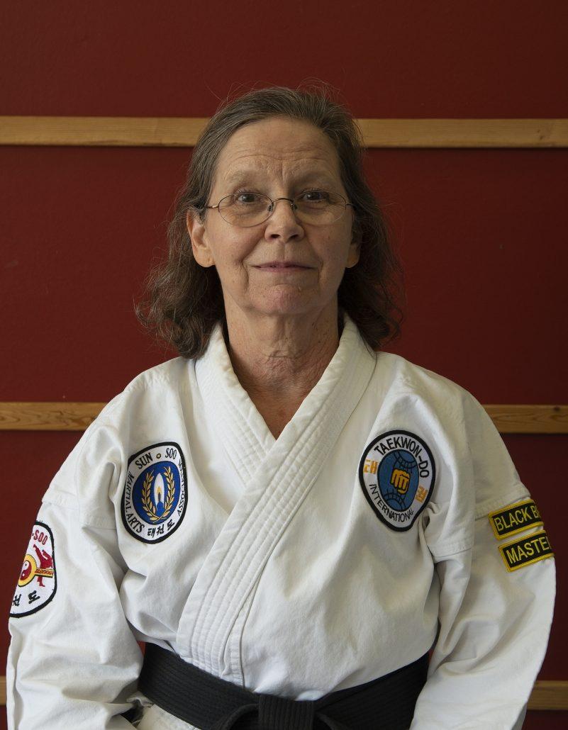 Photo of Ms. JoAnn McElrath, 2nd Dan