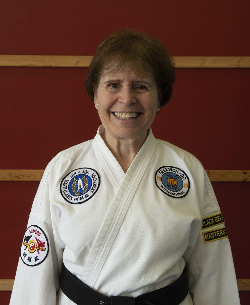 Photo of Ms. Karen Brinkman, 2nd Dan