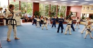 Mister Sam Apostolopoulos Teen Assistant for our Martial Arts classes for kids