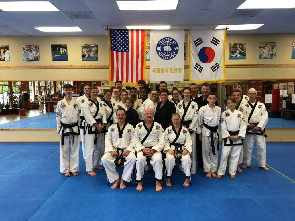 October 2018 Masters Club class photo