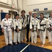 Photo of tournament participants from Asheville Sun Soo