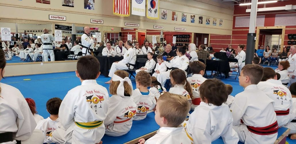 Students at Tae Kwon Do Tournament